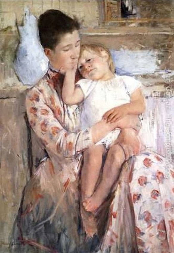 Mary Cassatt, Mother and Child XI