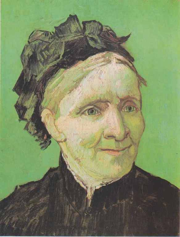 Van Gogh, Portrait of the Artist's Mother