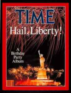 Not everyone invited: Time magazine cover, July 14, 1986