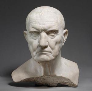 Dignity: Head of a Roman, 1st century BCE