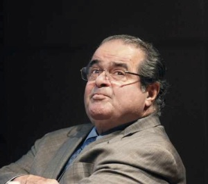 Waiter, there's a Constitution in my fortune cookie: Justice Scalia
