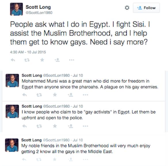 ScottLon Morsi gays