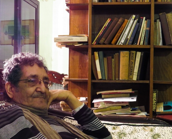 Seif, in his office at the HIsham Mubarak Law Centre