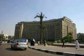 The Mugamma looms over Midan Tahrir