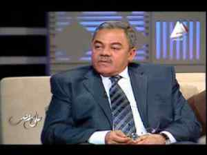 Major General Amgad el-Shafie, from a 2014 TV interview