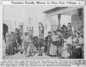 Anthropology in the human zoo: A Tunisian family exhibited at the Chicago World's Fair, 1934