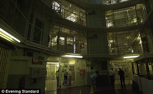 Panopticon: Pentonville Prison, UK