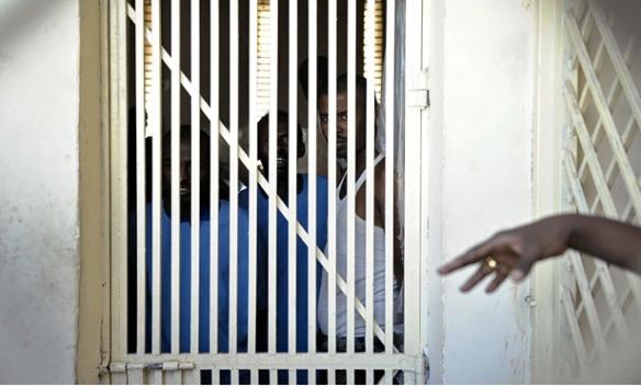 Inmates at the Hargeisa