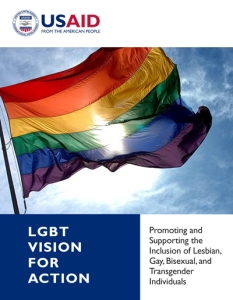 "Under the same flag: USAID joins Mona Iraqi in ""advancing LGBTI-inclusive development"""